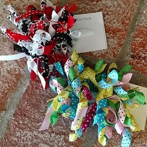 Accessories - Mickey Mouse Spring Korker Hairbows -2